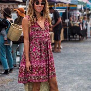 Spell kombi spice shift dress medium